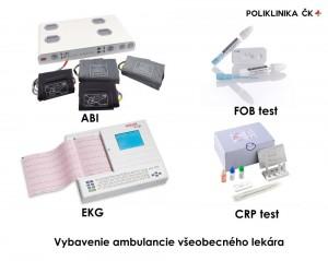 Vybavenie ambulancie všeobecného lekára